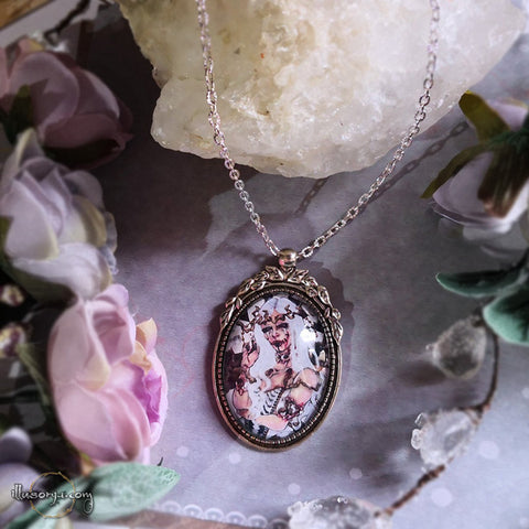 White Queen (Alice in Wonderland) - Collana