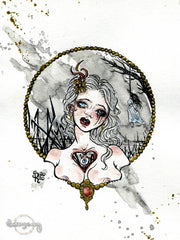 1st Tale from Nowhere - Original Drawing