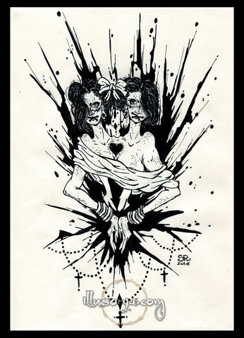 Ink #11 - Original Art