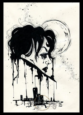 Ink #9 - Original Art