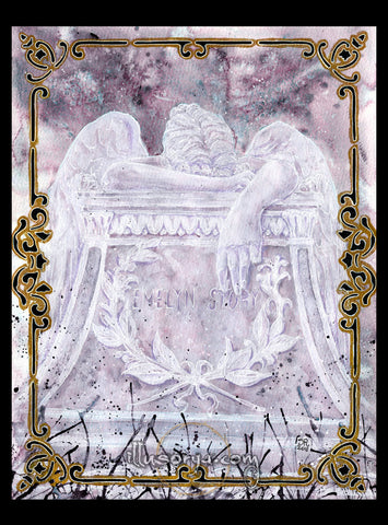 Angel of Grief :: Angelo del Dolore - Original Art