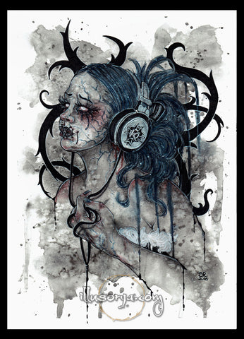 Kamelot :: My Therapy - Original Art