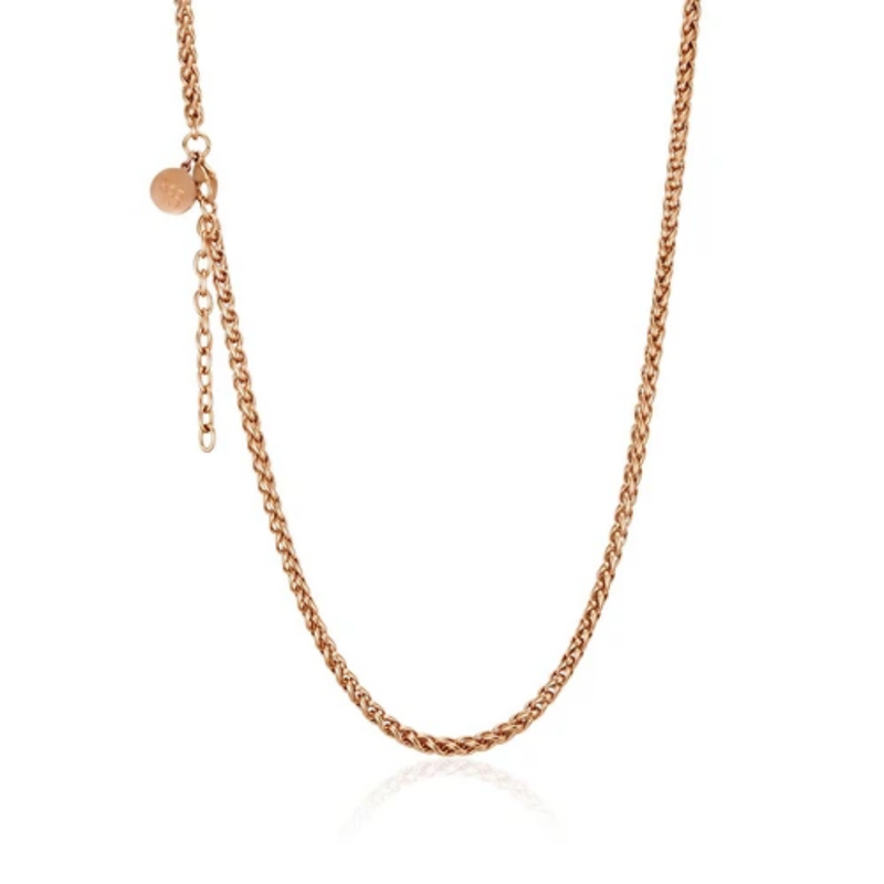 Rose Helix Petite Necklace