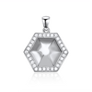 Sterling Silver Geometry Pendant