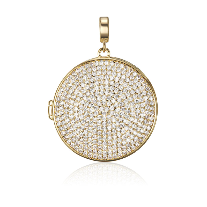 Kagi Gold Stella Locket