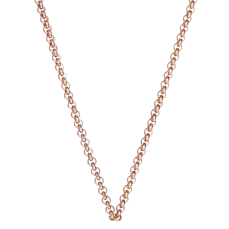 Rose Gold Steel Me Petite Necklace