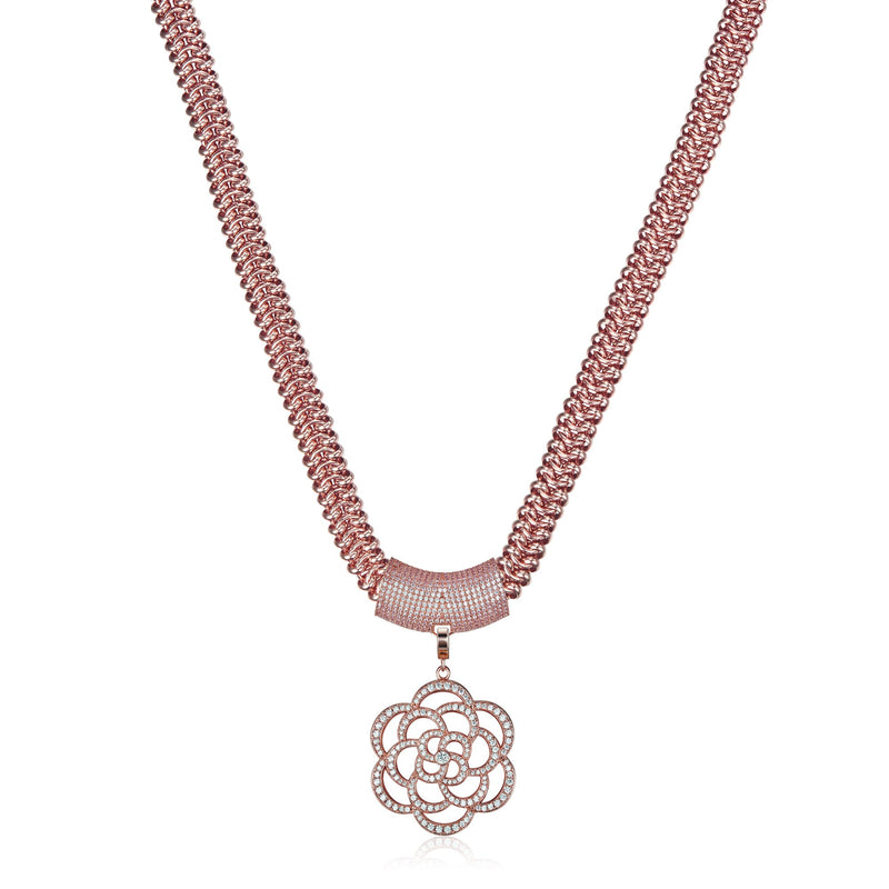Rose Gold Xena Necklace