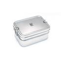 Large Double Layer Rectangular Lunchbox