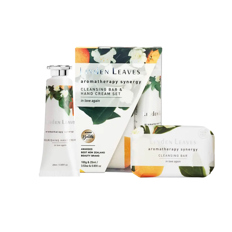 In Love Again Hand Cream And Cleansing Bar Set