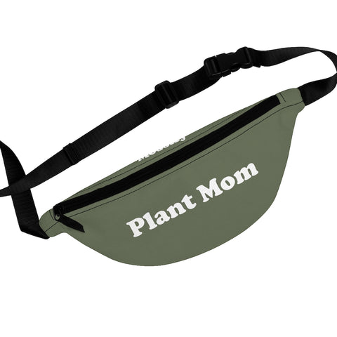 Plant Mom - Premium Fanny Pack - Green