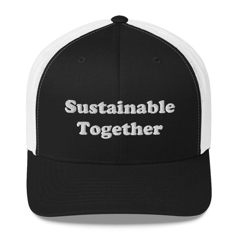 Sustainable Together - Premium Trucker Cap