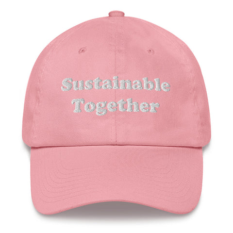 Sustainable Together - Premium Dad hat