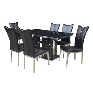 914/C11 KOREAN Dining Set 6 Seater