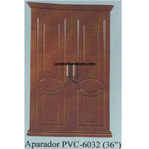 Golden Brown Aparador in PVC Laminate, PVC-6032 36‰Û_