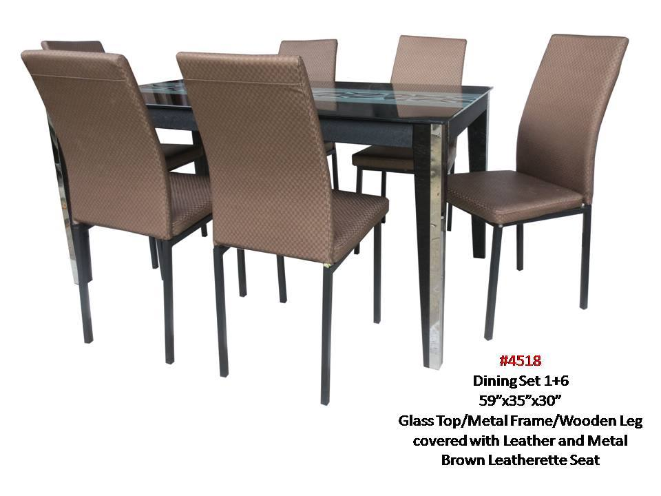 Pharsa Dining 4518 6 Seater