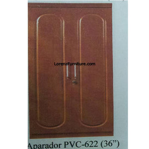 Golden Brown Aparador in PVC Laminate, PVC622