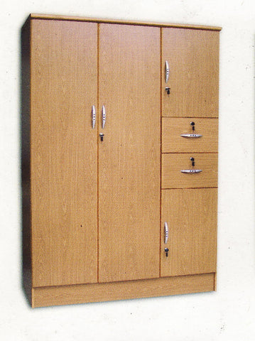 Wardrobe with Jeans Hanger, Shelves and Drawers