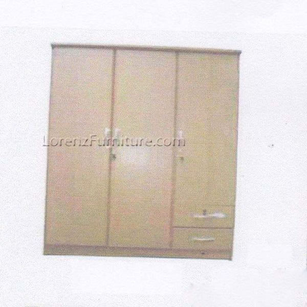 WC020 Sliding Door Wardrobe with Mirror and Four Drawers