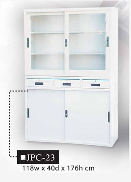 2-Piece Detachable Office Cabinet, JPC-23