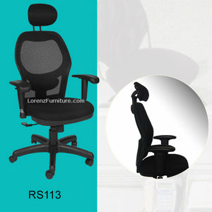 Office Chair, RS113 (With Headrest)