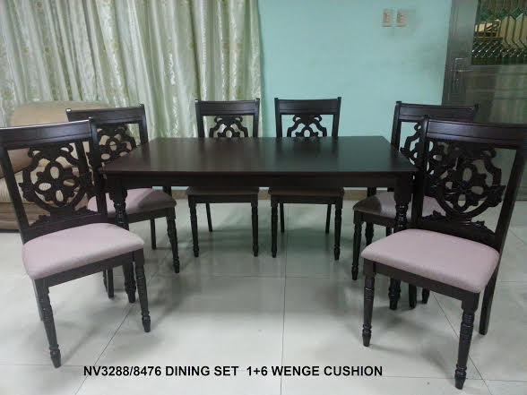 NV3288/8476 Dining Set 6‰۪s