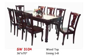 MH-SW3104 8-Seater Dining Set