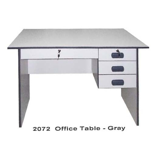 2072 Office Table Gray