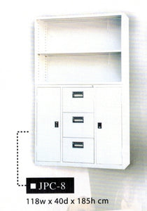 Two-Part Office Cabinet JPC-8