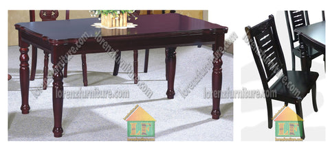 05/A6 Wooden Dining Set