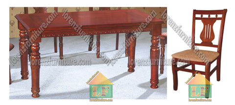 013/804 Wooden Dining Set