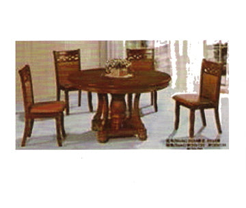 Circular Dining Table Set Model 023 Lorenz Furniture
