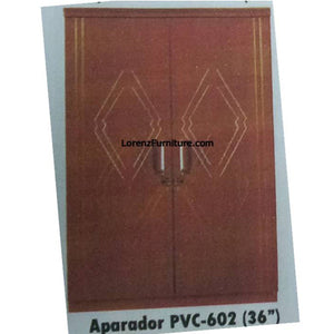 Golden Brown Aparador in PVC Laminate, PVC-602