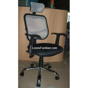 Carmi Mesh Chair with Head Support