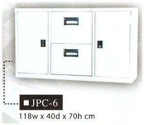 Office Steel Cabinet, JPC-6
