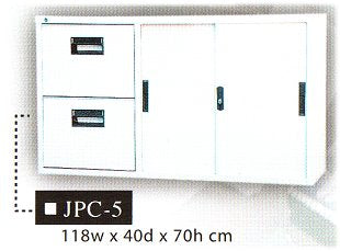 Steel Office Cabinet, JPC-5
