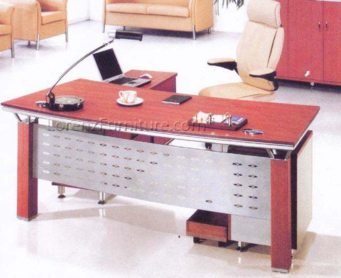 OFT1600 Executive Office Table with L-Type Drawer