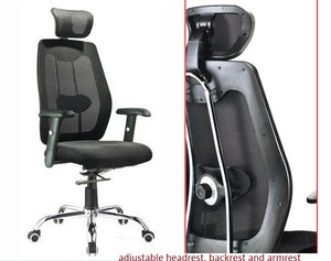 Executive Chair with Head Support