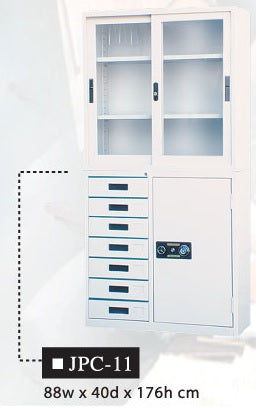 Two-Layer Office Cabinet, JPC-11