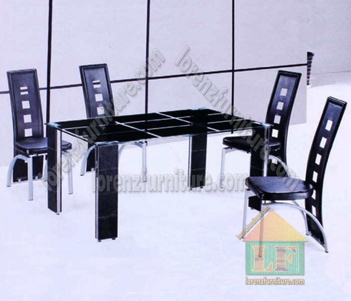 6402-62 Glass Dining Set