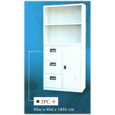 Two-Layer Steel Office Cabinet, JPC-9