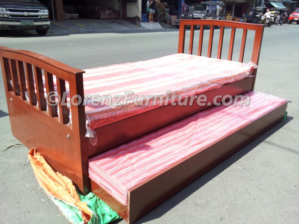 Jessica Single Bed with Pullout