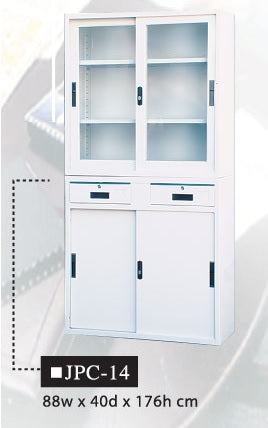 Two-Layer Office Cabinet, JPC-14