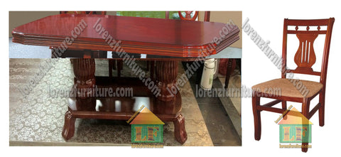 027A/804 Wooden Dining Set