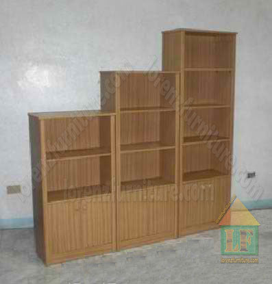 Open Bookcase Display Cabinet