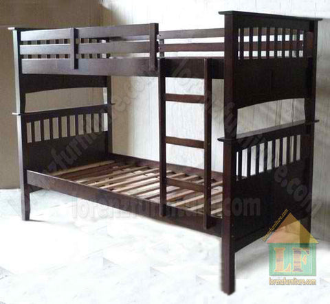 Carrie Wooden Bed