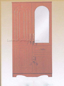 G-WDR8082 Two-Door Wardrobe Cabinet