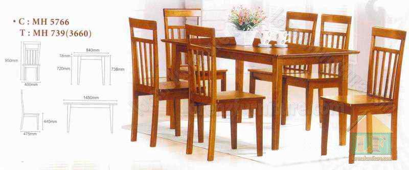 DS-5766-2 Dining Set
