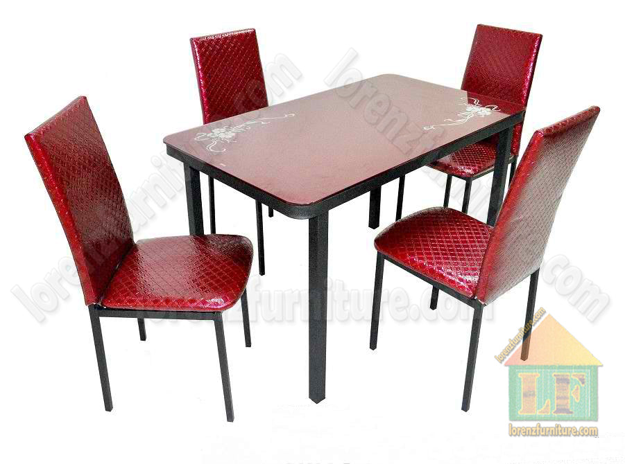 F199/Y166 Red Dining Set