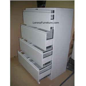 4 Layers Lateral Filing Cabinet LFC-04