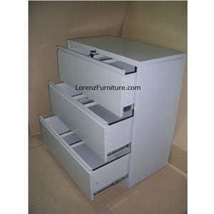 3 Layers Lateral Filing Cabinet LFC-03